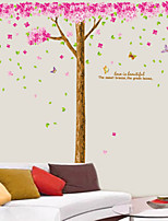 Wall Stickers Wall Decals Style Super Strong Cherry Tree PVC Wall Stickers