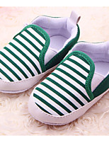 Baby Shoes Casual Fabric Loafers Blue/Green/Khaki