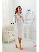 Women Ultra Sexy Nightwear , Chiffon/Lace