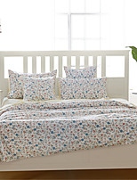 H&C 100% Cotton 1200TC Duvet Cover Set 3-Piece And 4-Piece Flowers Pattern HT2-001