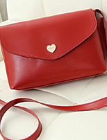 Women 's PU Baguette Shoulder Bag - Beige/Purple/Blue/Green/Brown/Red/Black