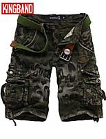 Men's Casual/Plus Sizes Pure Shorts Pants (Cotton)KB7A02