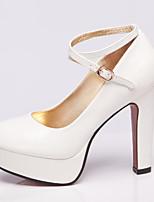 Women's Shoes Stiletto Heel Heels/Ankle Strap/Closed Toe Pumps/Heels Office & Career/Dress/Casual