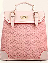 Women PU Baguette Backpack - Pink / Purple / Blue / Yellow