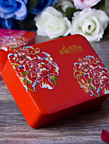 1 Piece/Set Favor Holder - Cuboid Metal Gift Boxes/Favor Boxes/Favor Tins and Pails Non-personalised