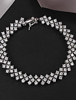 Party Platinum Plated Link/Chain Bracelet