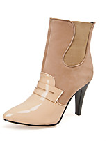 Women's  Cone Heel Pointed Toe / Closed Toe Boots