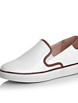 Women's Shoes  Platform Comfort/Closed Toe Loafers Outdoor/Casual White
