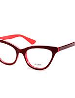 [Free Lenses] Acetate/Plastic Cat-eye Full-Rim Classic Prescription Eyeglasses