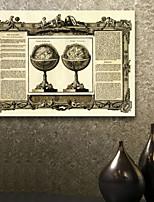 e-home® teso globo tela l'arte e la sintesi pittura decorativa