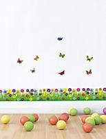 adesivos de parede adesivos de parede de estilo flor cor de parede adesivos pvc