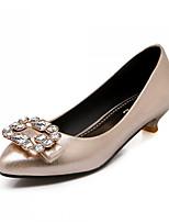 Women's Shoes Synthetic Low Heel Heels/Basic Pump Pumps/Heels Office & Career/Dress/Casual