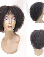 cheveux courts humaine perruques Machine non transformés frisés crépus vierge sans colle brésilien aucune dentelle perruques faites de