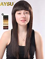 nouvelle arrivée remy vierge de cheveux humains perruques top court mono droite