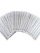 50pcs 5RS Tattoo Steel Needles Sterilized 5 Round Shader Size Disposable Hot