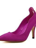 Women's Shoes Stiletto Heel Heels Pumps/Heels Wedding/Casual Black/Red