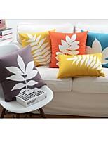 Super Soft Leaf Cushion Cover 18