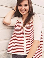 Women's Red T-shirt ½ Length Sleeve
