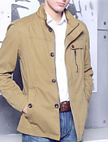 Men's Stylish Korean Single-breasted Wind Coat