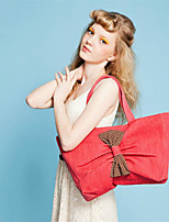 WEST BIKING® 2015 Fashion Women's Shoulder Bow Canvas Bag