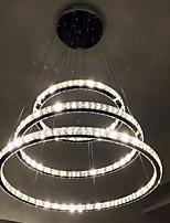LED Clear Crystal Pendant Light Ceiling Chandeliers Lighting Lamp fixtures with D100CM+D80CM+D60CM CE FCC UL