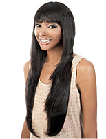 European and American Ppopular High Quality Natural Color Long Straight Hair Wigs