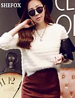 Women's Casual/Work Medium Pullover (Knitwear) SF7B26
