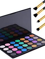 28 Retro Colors Eyeshadow Palette Cosmetic Makeup Palette Eye Shadow Tools Kits + 4PCS Pencil Makeup Brush