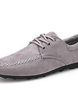Scarpe da uomo - Sneakers alla moda - Ufficio e lavoro / Casual - Scamosciato - Nero / Blu / Grigio