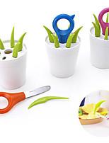 ensemble de 7 fleurs en forme de pot pics de fruits couteau fourches conçues mis ustensiles de cuisine (couleur aléatoire)