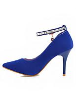 Women's  Stiletto Heel Heels Pumps/Heels Office & Career/Casual Black/Blue/Pink