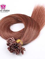 25 obligations de stock couleur de la lumière remy mongol bout d'ongle extensions de cheveux 20 pouces u Astuce extensions de cheveux