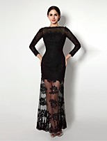 Formal Evening Dress Sheath/Column Bateau/Sweetheart Ankle-length Dress