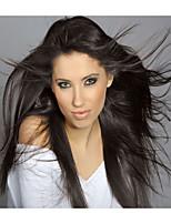 100% soie brésilien de cheveux humains droite couleur naturelle perruque avant de lacet de nouvelle mode