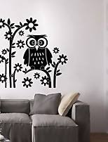 Wall Stickers Wall Decals Style New Owl PVC Wall Stickers