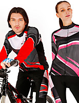 REALTOO New Design Breathable Long Sleeve Couples Cycling Suit