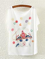 XIXI Women's  Lovely Fashion Summer 3D Tree T Shirt(Cotton Blends)