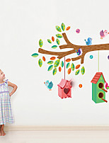 Wall Stickers Wall Decals Style Colors Bird's Nest PVC Wall Stickers