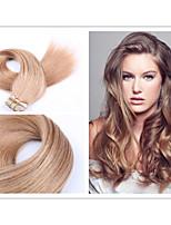 1pc / lot brazilian maagd haar band in human hair extensions 2.5g / pc, 40g / verpakking tape hair extensions huid inslag hair