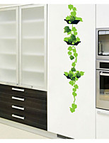 Leafy Potted Wall Stickers
