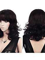 Europe and the United States Detonation Model High Quality Fashion Black Curly Hair Temperament Wig