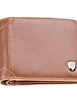 Bi-fold (due scomparti) - Pochette / Portafoglio - Uomo - Vacchetta - Marrone