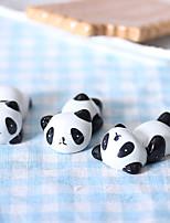 bonito panda preguiçoso cerâmica titular pauzinhos talheres resto ficar (envio aleatório)