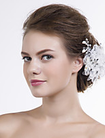 Blommor Headpiece Dam Bröllop/Speciellt Tillfälle Spets/Organza Bröllop/Speciellt Tillfälle 1 st.