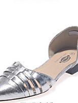 Women's Shoes Kitten Heel Heels Pumps/Heels Dress Black/Silver