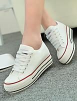 Scarpe Donna - Sneakers alla moda - Casual - Plateau / Punta arrotondata - Piatto - Di corda - Nero / Blu / Rosso / Bianco / Blu scuro