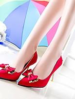 Amir 2015 Hot Sale Women's Shoes Stiletto Heel Pumps Wedding/Party & Evening/Dress Black/Brown/Red