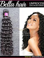 brazilian diepe golf maagdelijke haar bundelt nat en golvend menselijk haar 3pcs / lot remy human hair extensions bella hair