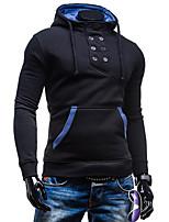 Herren Freizeit/Büro Activewear Sets  -  Einfarbig Lang Baumwolle