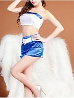 Kayi  Women Cotton Blends/Nylon/PU Uniforms & Cheongsams/Ultra Sexy Nightwear
